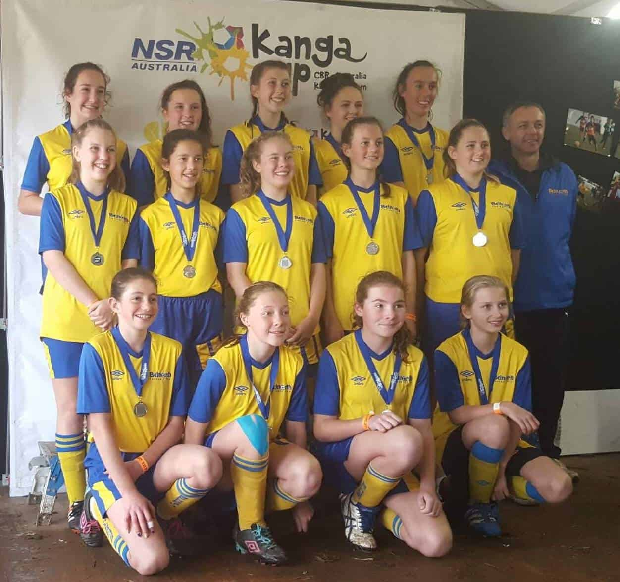 U13 Girls Kanga 2016 - 2