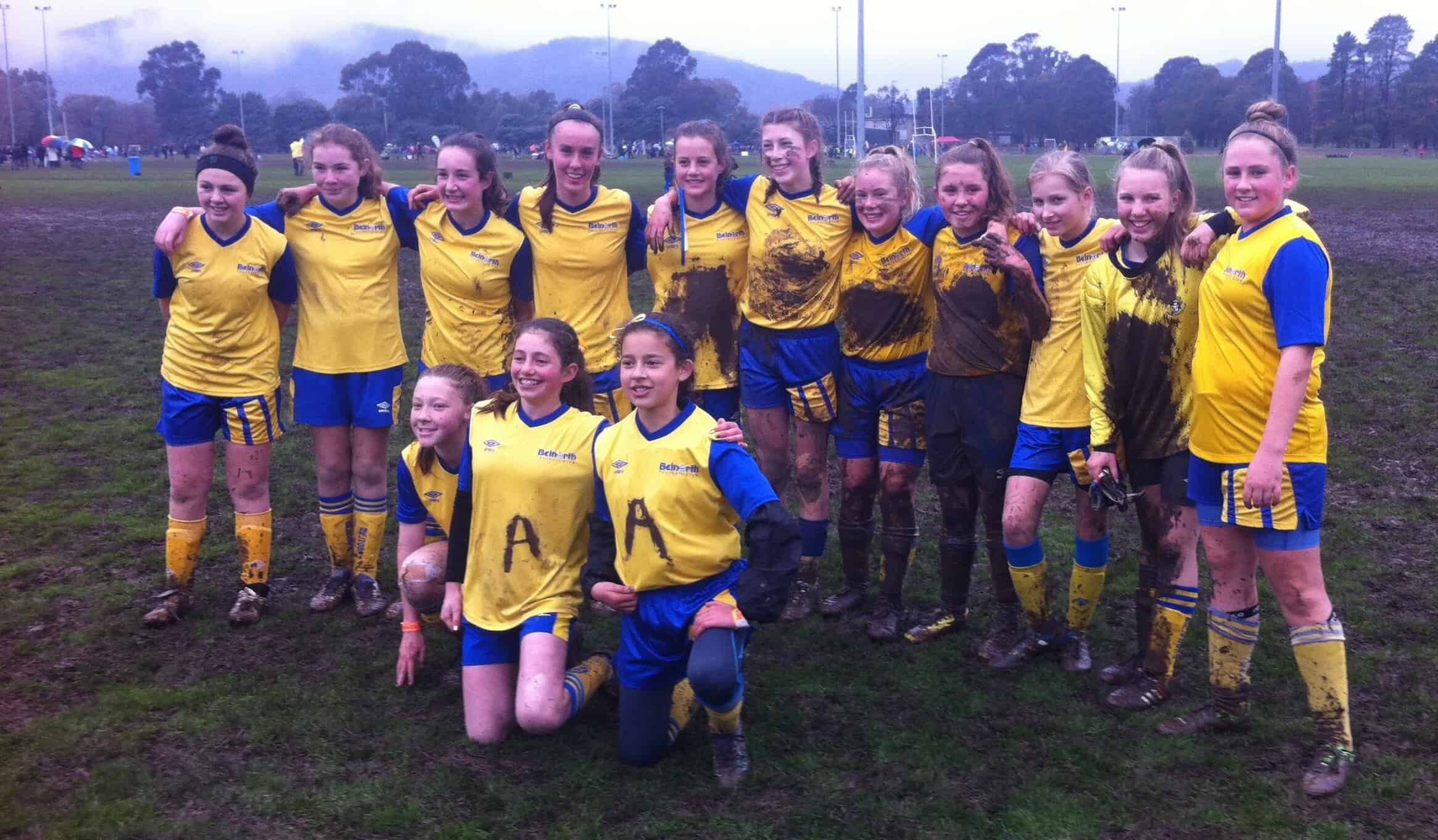 U13 Girls Kanga 2016